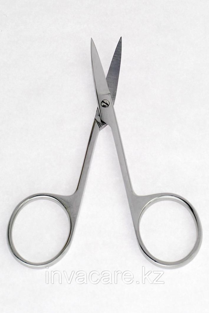 Ножницы остроконечные, вертикально-изогнутые, 100мм *, (20-1751R)