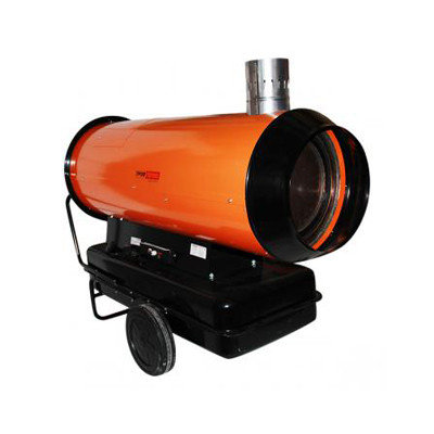 Калорифер дизельный ДН-80Н апельсин непрямого нагрева, фото 2