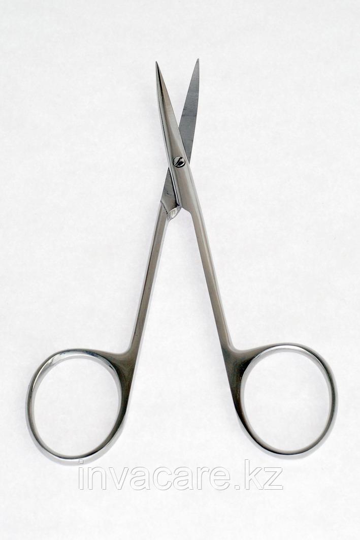 Ножницы с двумя острыми концами, вертикально-изогнутые, 113мм. *, (35-7493R)
