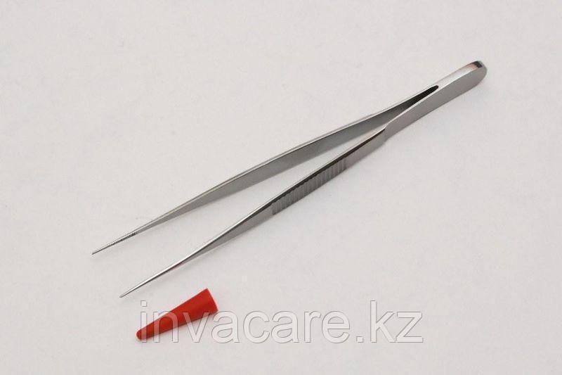 Пинцет анатомический, прямой, 100мм *, (35-7005R)