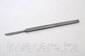 Скальпель брюшистый, малый, 130мм *, (35-7180R)