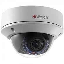 DS-T207P - 2MP HD-TVI уличная купольная варифокальная камера с поддержкой питания по коаксиалу (PoC.af) и ИК-подсветкой.
