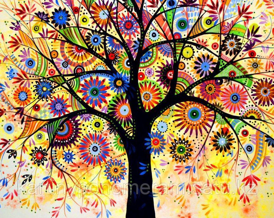 "Картина по номерам ""Дерево богатства 2"""