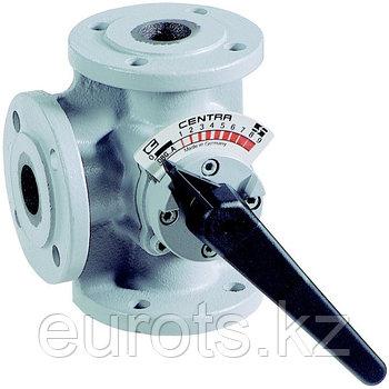 3-ходовые стандартные фланцевые поворотные клапаны DR