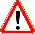 Знак 1.30 Прочие опасности