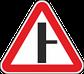 Знаки 2.3.2, 2.3.3 Екінші дәрежелі жолдың жалғасуы/ Примыкание второстепенной дороги, фото 2
