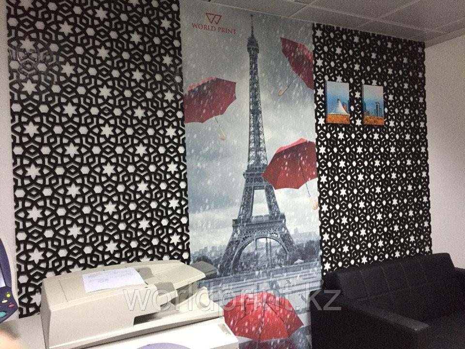Фотообои в офис, интерьерная печать на обоях