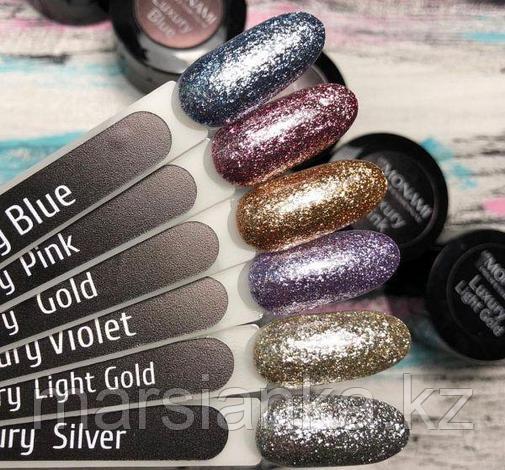 Гель-лак Monami Luxshury Silver, 5гр, фото 2