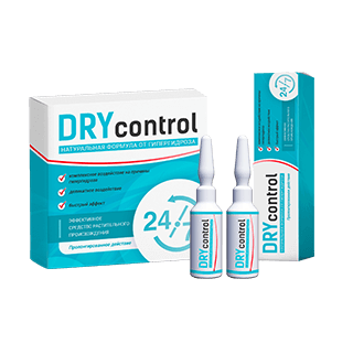 Средство Dry Control от потливости (гипергидроза)