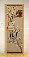 Дверь для сауны Sauna Market Сакура, фото 1