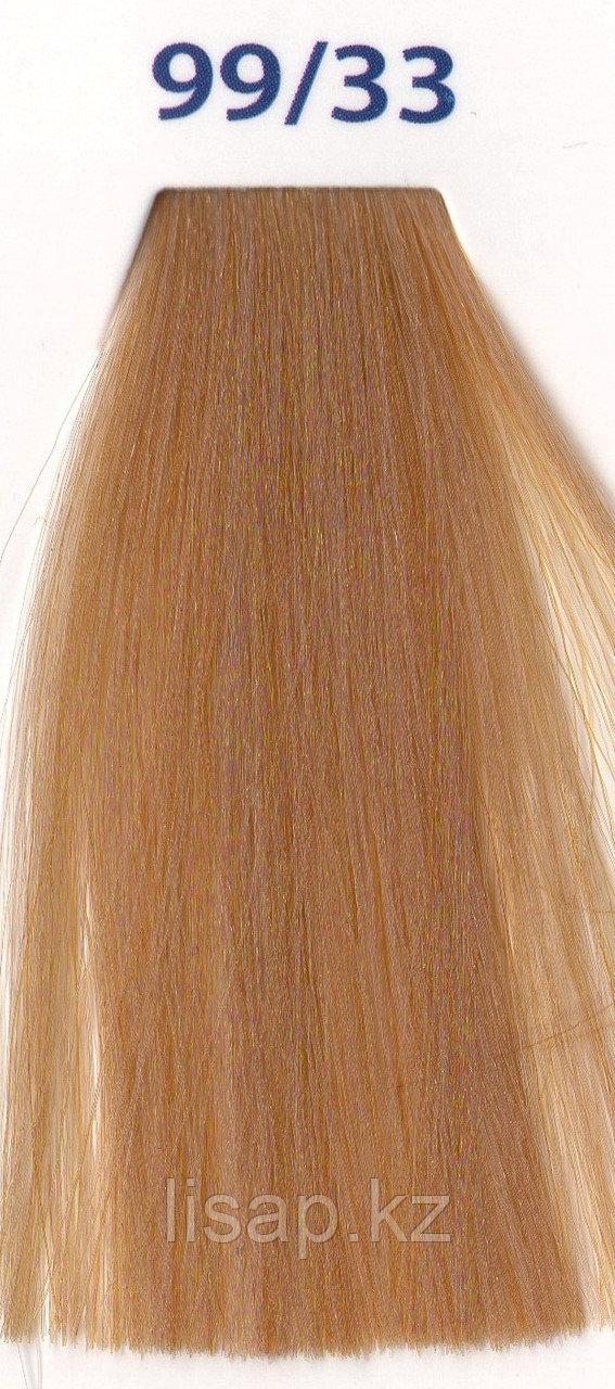 Краска для волос с КЕРАТИНОМ очень светлый блондин глубокий золотой