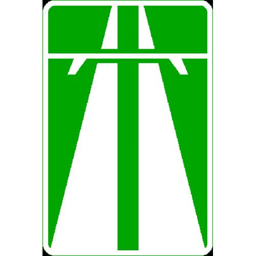 Знак 5.1 Автомобиль жолы/Автомагистраль