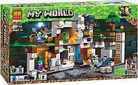 Конструктор Bela 10990 Minecraft Приключения в шахтах