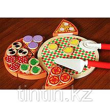Деревянная игрушка - Пицца (на липучках), фото 3