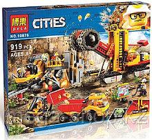 Конструктор Bela 10876 Площадка для горнодобывающих работ 919 деталей