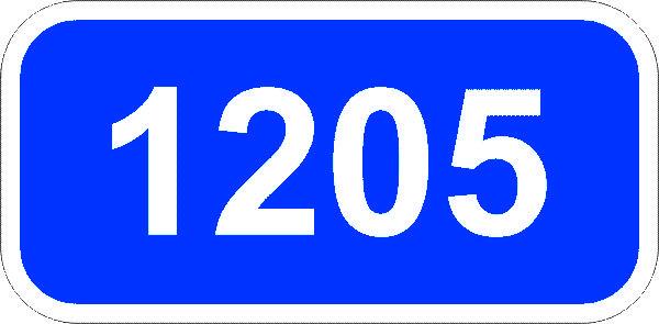 Знак 5.28 Километровый знак