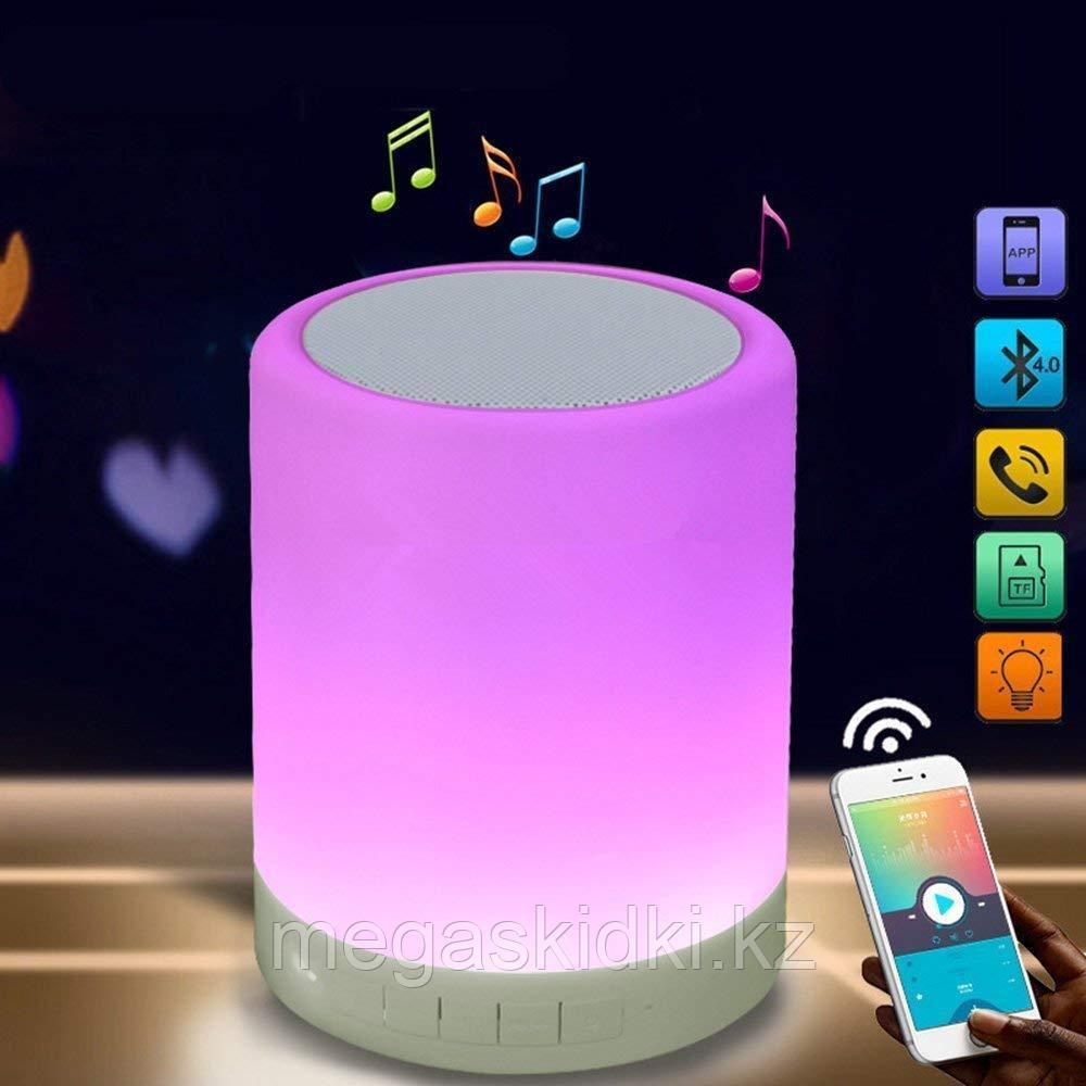 Портативная колонка Bluetooth со светильником (CL-671)