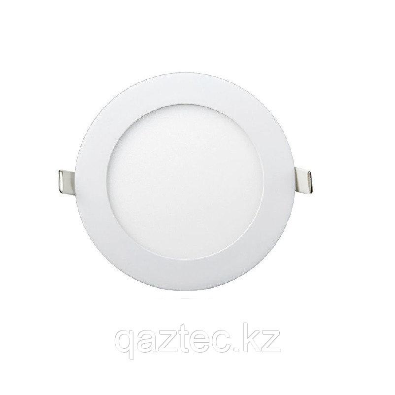 Светодиодная панель круглая накладная 6W