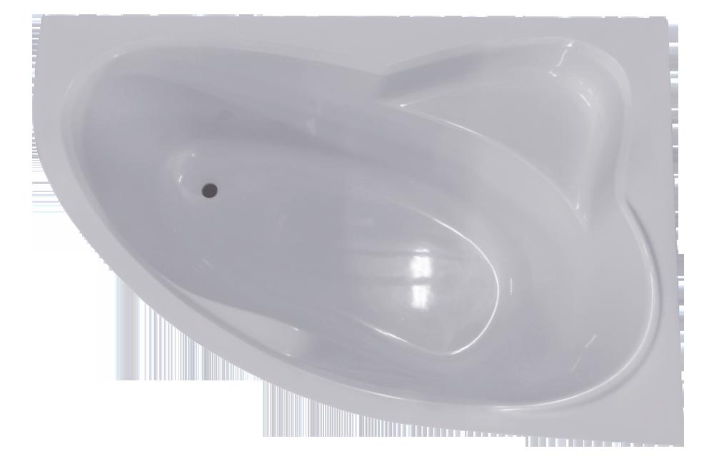 Комплект NIKA LA 1700*1150 L (ванна, эКран, рама, кр)