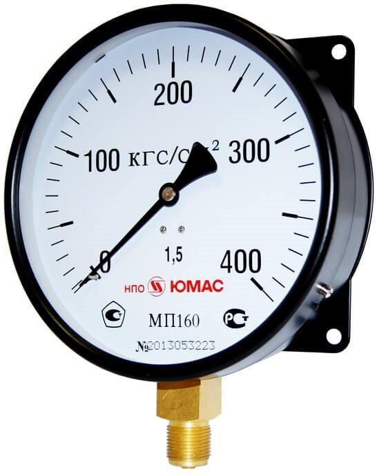 Манометр МП 100М-1,0 МПа код 101727Ю ЮМАС