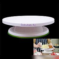 Поворотный Столик пластиковый 28см для торта