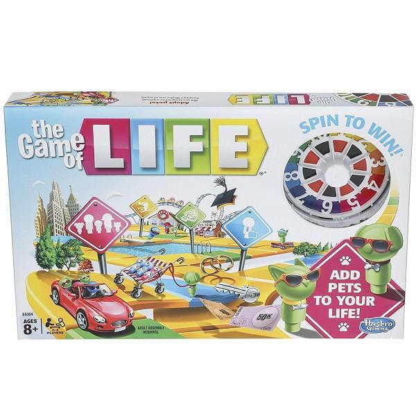"""Hasbro Games Настольная игра """"Игра в Жизнь: Заведите Питомцев"""""""