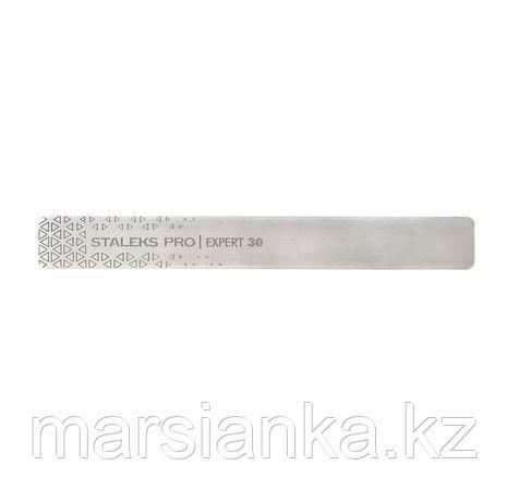 Пилка металическая прямоугольная (основа) EXPERT 30 Staleks, фото 2