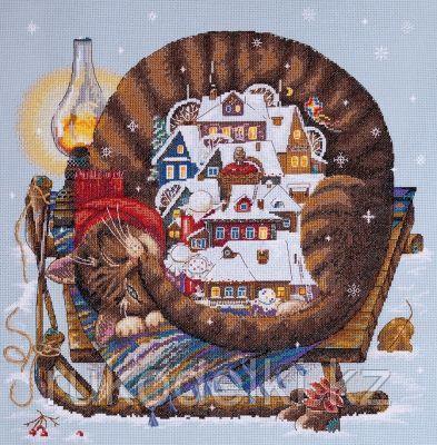 """Набор для вышивания крестом """"Уютная зима"""""""