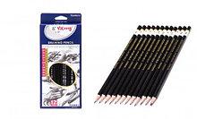 Набор чернографитных карандашей 12шт