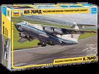 Сборная модель Военно-транспортный самолёт Ил-76МД 1\144