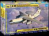 Сборная модель Российский самолет дальнего радиолокационного обнаружения А-50 1\144
