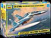 Сборная модель Российский учебно-боевой самолёт Су-27УБ 1\72