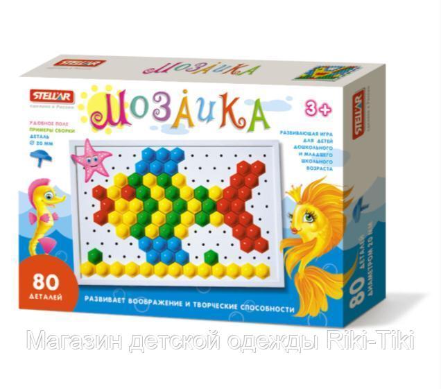 Развивающая игра- мозаика. 3+