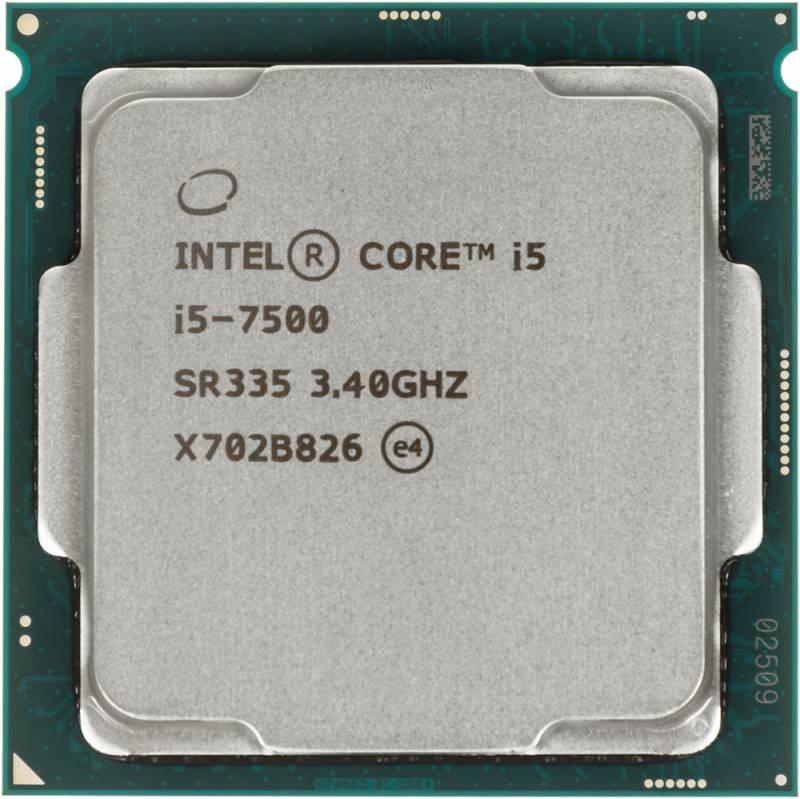 CPU Intel Core i5 7500, 3.4 GHz, S-1151