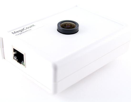 Счетчик посетителей Video 2D имеет компактные размеры и современный внешний вид
