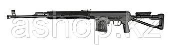 Винтовка снайперская для страйкбола ASG Dragunov SVD-S, Калибр: 6,0 мм, Дульная энергия: 0,9 Дж, Ёмкость магаз