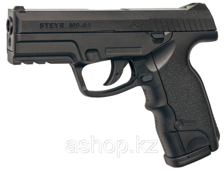 Пистолет для страйкбола ASG Steyr M9-A1, Калибр: 4,5 мм (.177, BB), Дульная энергия:  1,9 Дж, Ёмкость магазина