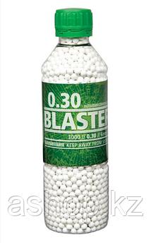 Пластиковые шарики для страйкбольного оружия ASG BB Blaster, Калибр: 6,0, 3000 шт., 0,3 г, Цвет: Белый, Упаков
