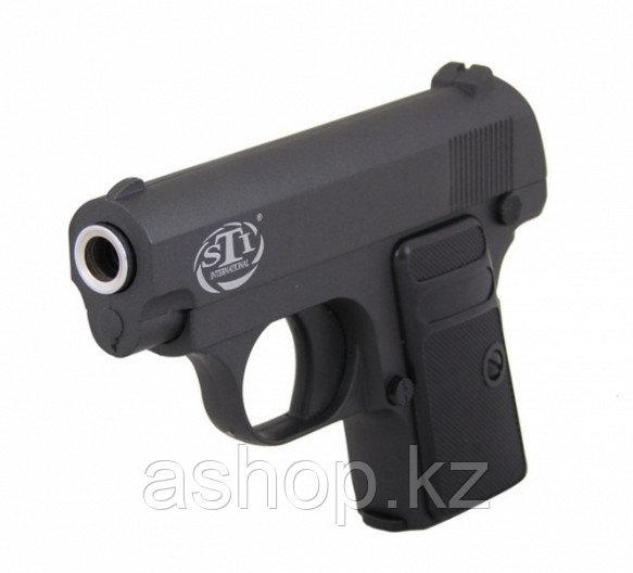Пистолет для страйкбола ASG STI Off Duty, Калибр: 6,0 мм, Дульная энергия: 0,3 Дж, Ёмкость магазина (барабана)