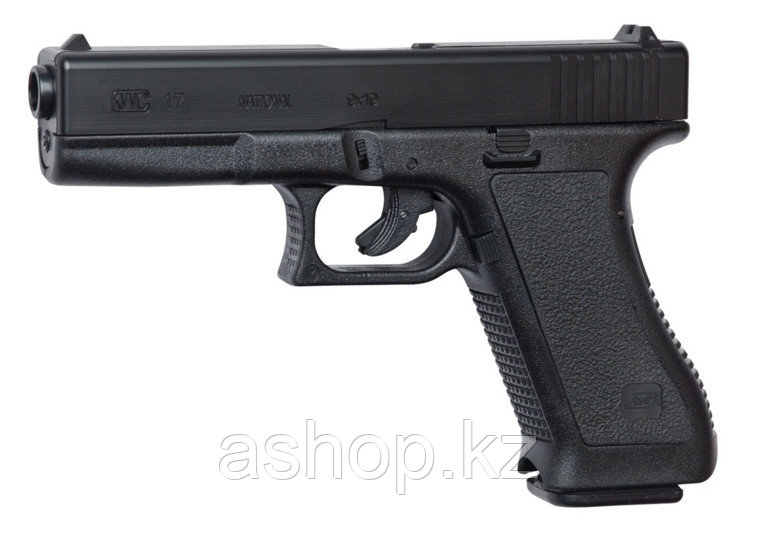 Пистолет для страйкбола ASG G17, Калибр: 6,0 мм, Дульная энергия: 0,7 Дж, Ёмкость магазина (барабана): 23, Ист
