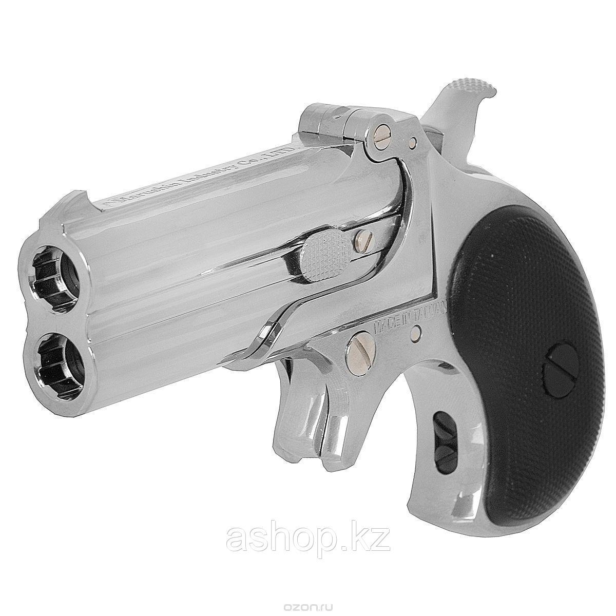 Пистолет для страйкбола ASG Derringer, Калибр: 6,0 мм, Дульная энергия: 0,6 Дж, Ёмкость магазина (барабана): 2