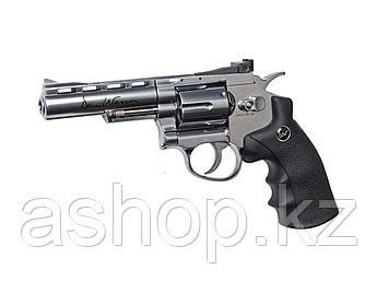 """Револьвер для страйкбола ASG Dan Wesson 4"""", Калибр: 4,5 мм (.177, BB), Дульная энергия: 1,8 Дж, Ёмкость магази"""