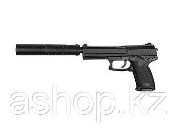 Пистолет для страйкбола ASG MK23 Special Operations, Калибр: 6,0 мм, Дульная энергия: 0,7 Дж, Ёмкость магазина