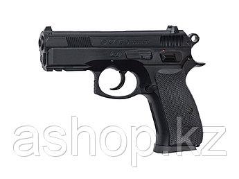 Пистолет для страйкбола ASG CZ 75D Compact, Калибр: 6,0 мм, Дульная энергия: 0,4 Дж, Ёмкость магазина (барабан