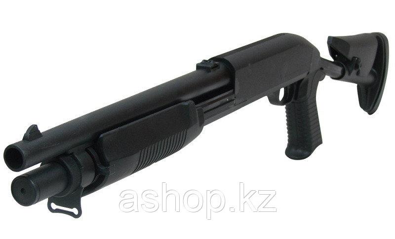 Short Franchi SAS 12 ASG дробовик для страйкбола, 1,2 Дж, Приклад: Складной, Цвет: Чёрный