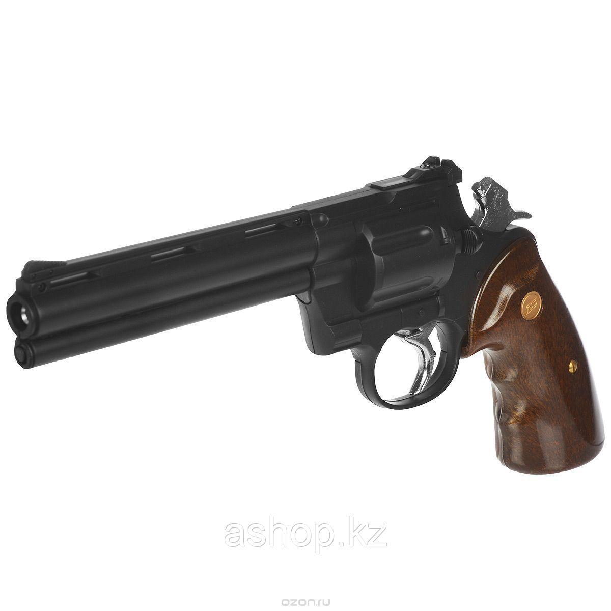 Револьвер для страйкбола ASG Zastava R-357, Калибр: 6,0 мм, Дульная энергия: 0,7 Дж, Ёмкость магазина (барабан