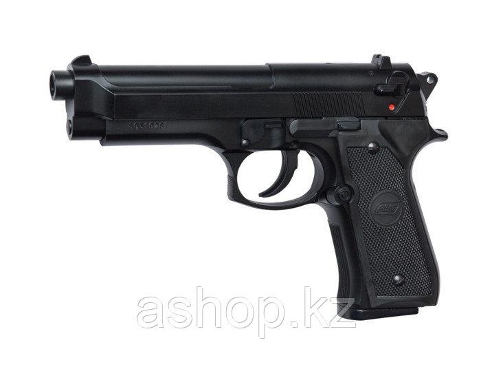 Пистолет для страйкбола ASG M92 FS, Калибр: 6,0 мм, Дульная энергия: 0,4 Дж, Ёмкость магазина (барабана): 13,