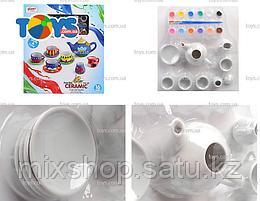 Набор для росписи чайного сервиза Арт.555-DIY002