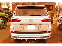 Спойлер на крышку багажника для Lexus LX570/LX450D 2016+