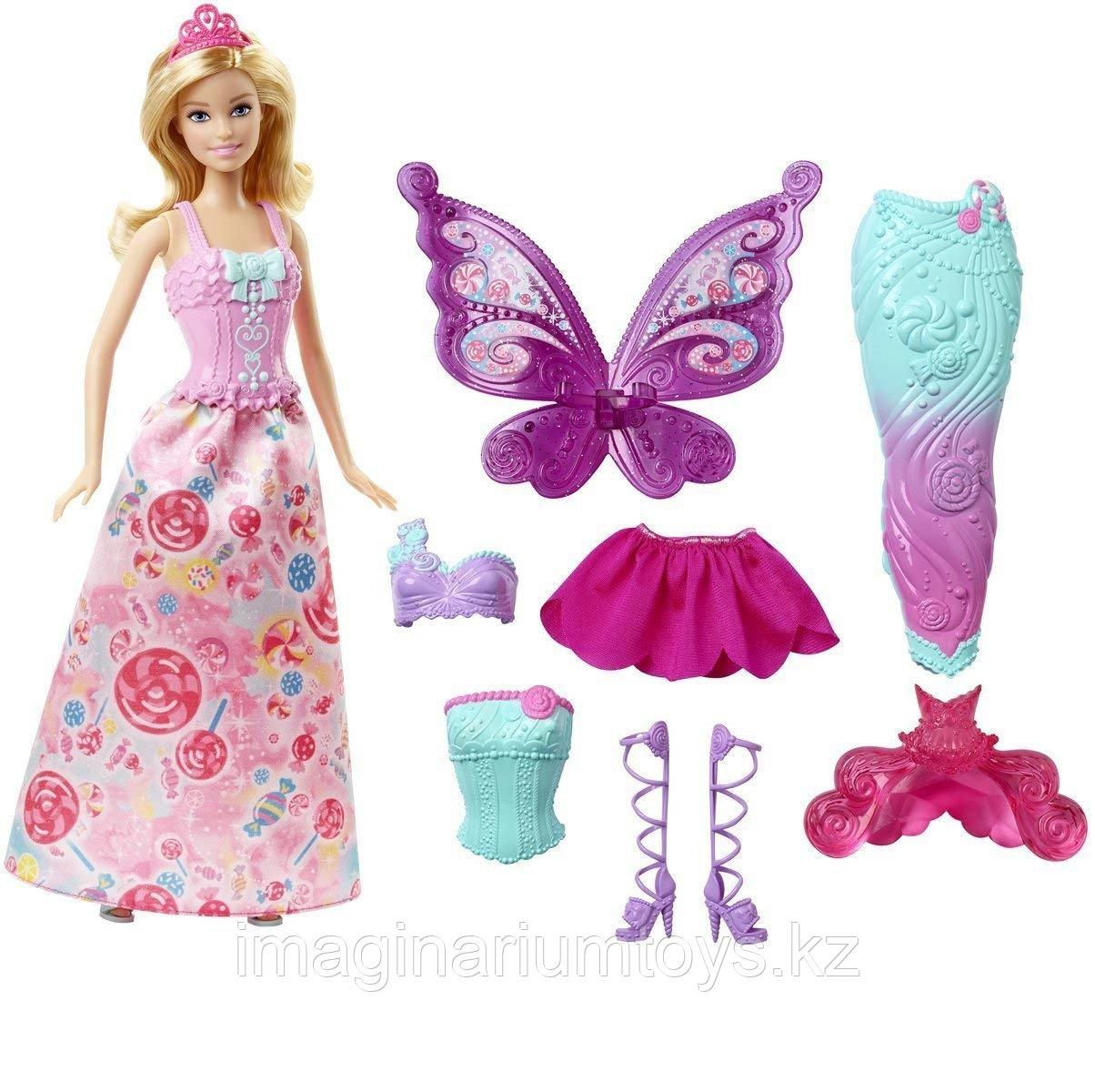 Кукла Барби Дримтопия Фея с комплектом одежды
